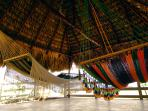 Hammocks at the rancho