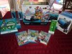 New WII - U system with Family Freindly Games Including Mario Cart 8