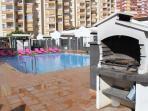 Estudio 1KB  con piscina y playa