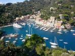 Portofino only 7 KM (5 mi) away