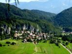Our village of Bohinjska Bela