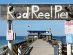 Near the Rod & Reel Pier!