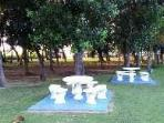 Tables in the Garden