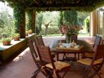Outdoor Shaded Patio