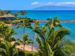 Sweeping Panoramic Views - Taken from 1503 Surfrider Veranda Looking Down On To Kapalua Beach and Bay. Gaze out at...