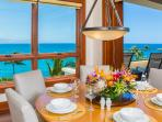 1503 Surfrider - Ocean Front Private Dining Room with Panoramic Oceanfront, Islands, and Sunset View