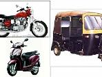 two wheeler for rent, rikshaw and taxi with driver