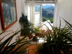 Beautiful village house with panoramic views of th