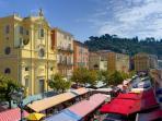 Nice - The Cours Saleya
