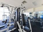 Free use of the gymnasium