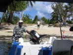 sortie à la pêche aux gros, mérous, dorades, barracudas, etc...