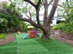 Outdoor kids area