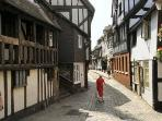 One of the many medieval passages in Shrewsbury