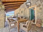 Villa Sancta Maria Motovun - ground floor, bedroom entrance