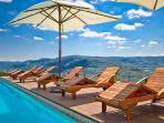 Villa Sancta Maria Motovun - pool area