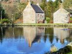 Corn Mill and Duck pond