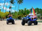 Rent our ATVs and enjoy your vacation to the max. Location de quads à la villa