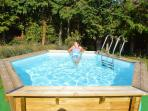 Splash pool - ideal for the children to play in and for adults to cool off on hot summer days