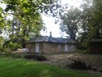 Cottage in October 2014 at apple picking time