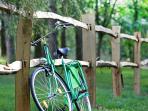 Enfourchez nos vélos pour des balades dans la campagne