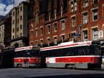 Public transport including underground subway and streetcars within steps of your apartment.