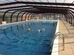 Child friendly Indoor Heated Pool, free to guests