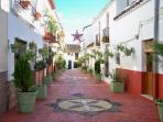 One of Estepona's lovely old streets