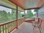 Private Deck of Master Bedroom