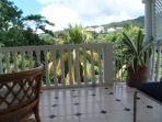 outside eating balcony