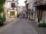 Cordes-sur-Ciel voted best village 2014 is just 40 mins away