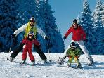 Teaching Your Kids To Ski. All Of You Will Cherish Those Times Together Forever!