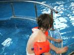 Book and enjoy for free children swimming pool