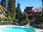 Kids love the heated year round pool, shared hot tub and sauna.