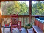 Deck Rocking Chair