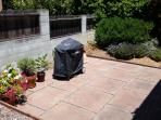Side Patio with Barbeque