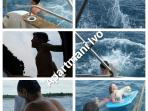 Some phots of our trip with a boat