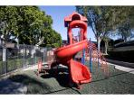 Playground adjacent to pool area