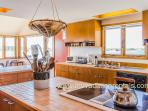 Kitchen Open to Dining Area, Waterviews