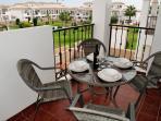 Balcony, overlooking the pool