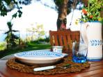 Colazione in giardino