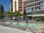 Fountains in Calpe town