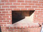 The backyard wood-fired pizza oven.  Yum!