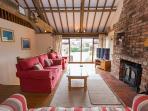 Flintstone's upstairs lounge room