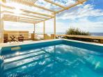 Private Plunge Pool in Veranda
