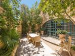 Courtyard, perfect for al fresco dining