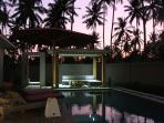 Sunset capture from the pool