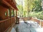 2nd level deck 31ft. X 12ft Open air * Future Hot Tub spot*
