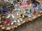 The welly boot garden - only a welly throw away