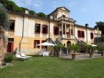 Holiday Apartment 'Camino' - private garden area