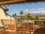 Private deck with oceanview - SAMPLE